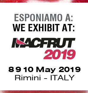 We exhibit at MACFRUT 2019!!